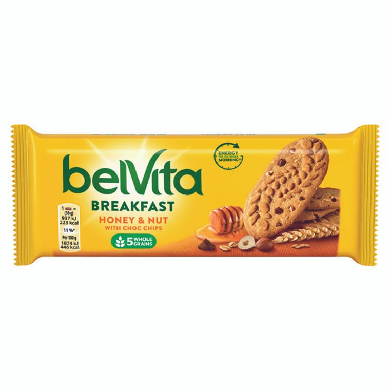 KS42163 Belvita Breakfast 50g Honey Nut Pack 20 665183