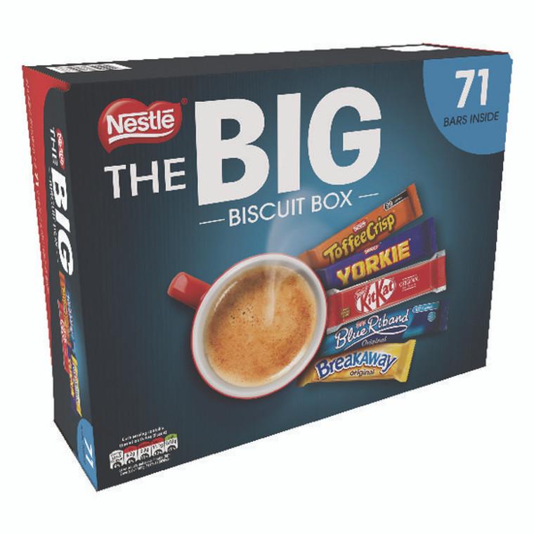 NL47423 Nestle Big Biscuit Box Includes Breakaway Kit Kat Toffee Crisp Drifter Blue Riband 12313923