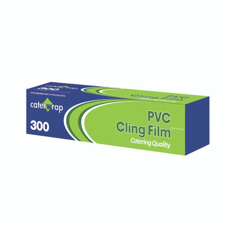AU32080 Caterwrap Cling Film 300mmx300m Cutter Box Cutter box allows you easily cut film 32C08