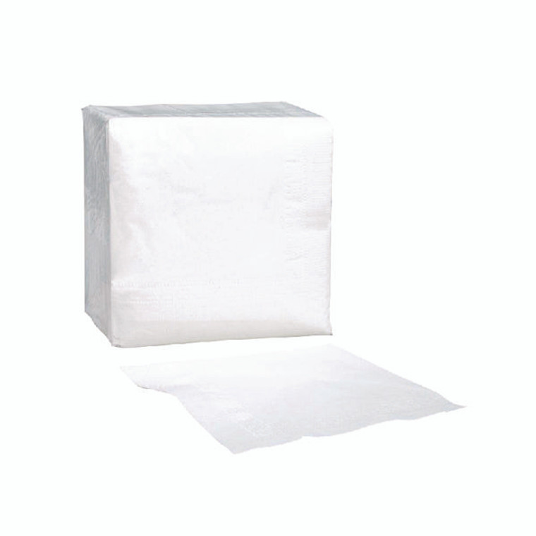 CPD01199 Paper Napkins 320mm 1-Ply White Pack 500