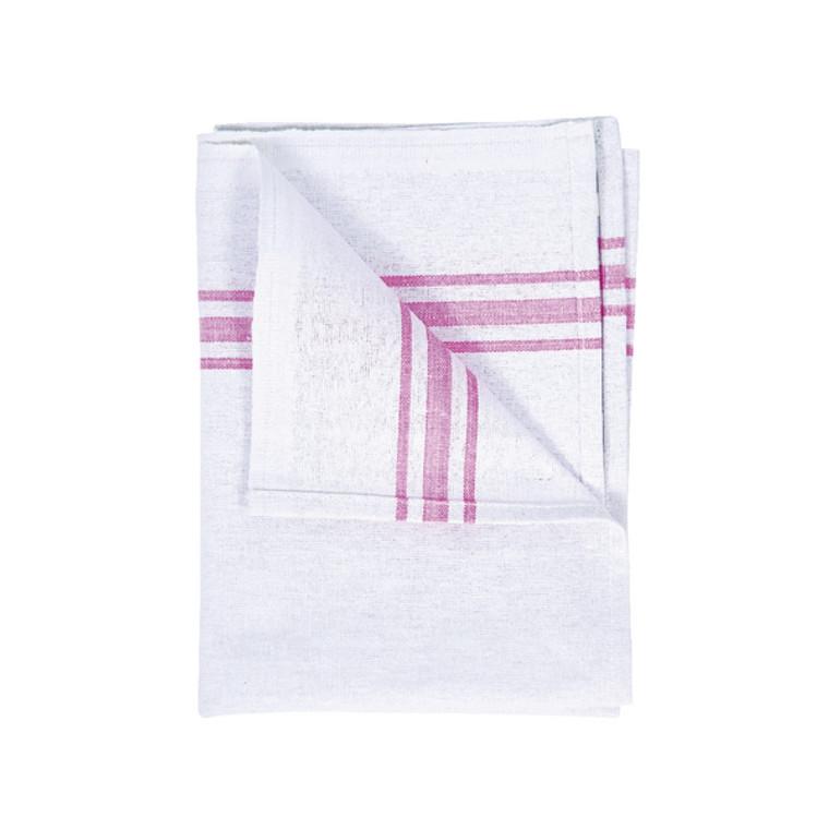 CX01693 White Cotton Tea Towel 190 x 290mm Pack 10 102810