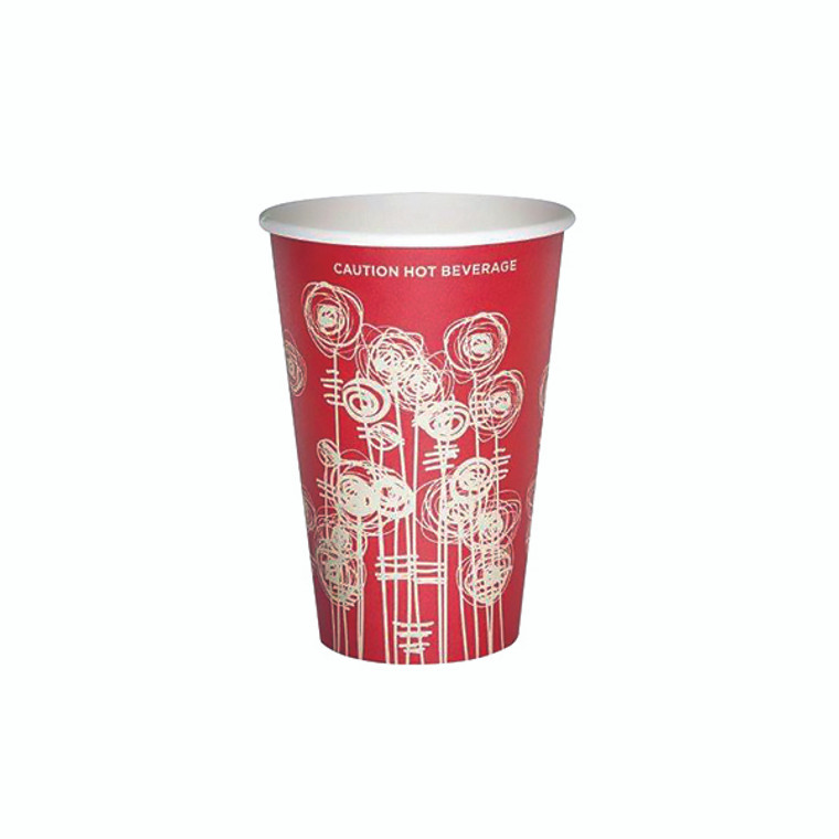 AS30037 Paper Vending Cup 9oz 25cl Swirl Design Pack 1000 HHPAVC09A