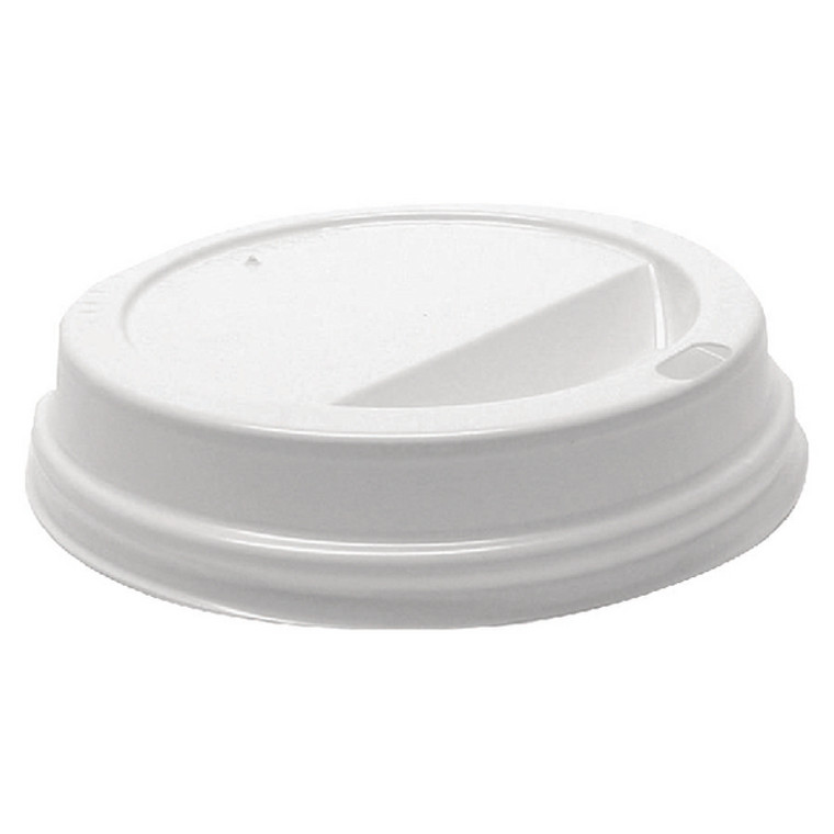 AS30032 MyCafe Lids 12oz White use with Ripple Walled Hot Cups Pack 1000 MXPWL80CASE