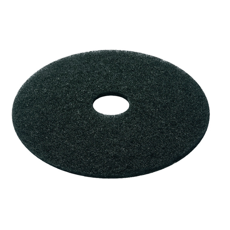 CNT01617 3M Stripping Floor Pad 380mm Black Pack 5 2ndBK15
