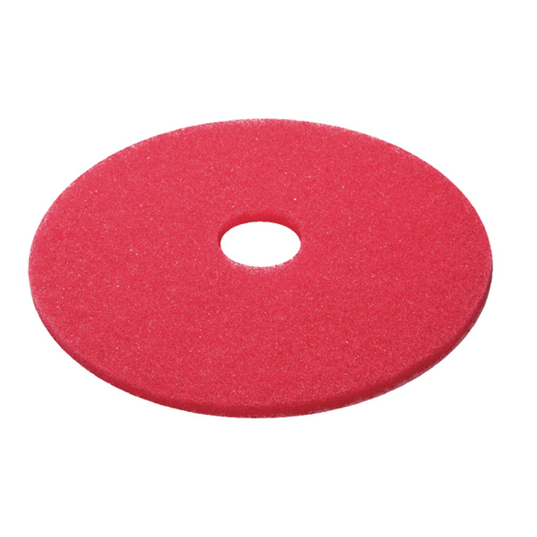 CNT01621 3M Buffing Floor Pad 380mm Red Pack 5 2nd RD15