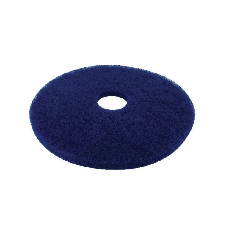 CNT01620 3M Cleaning Floor Pad 430mm Blue Pack 5 2ndBU17