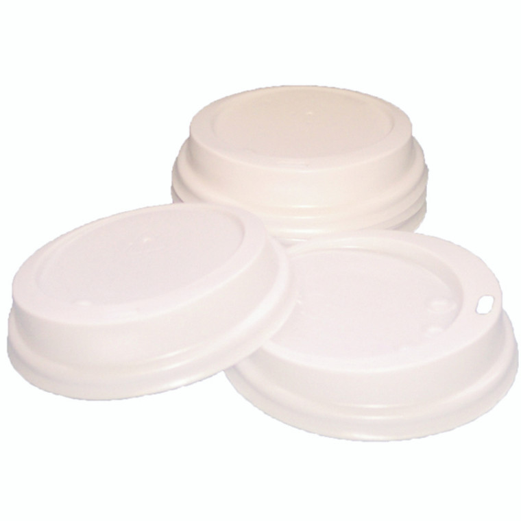 RY04220 Caterpack White 25cl Paper Cup Sip Lids Pack 100 MXPWL80