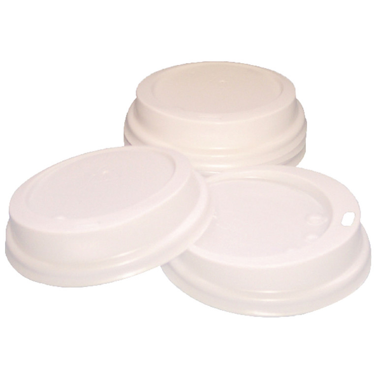 RY04222 Caterpack 35cl Paper Cup Sip Lids White Pack 100 MXPWL90