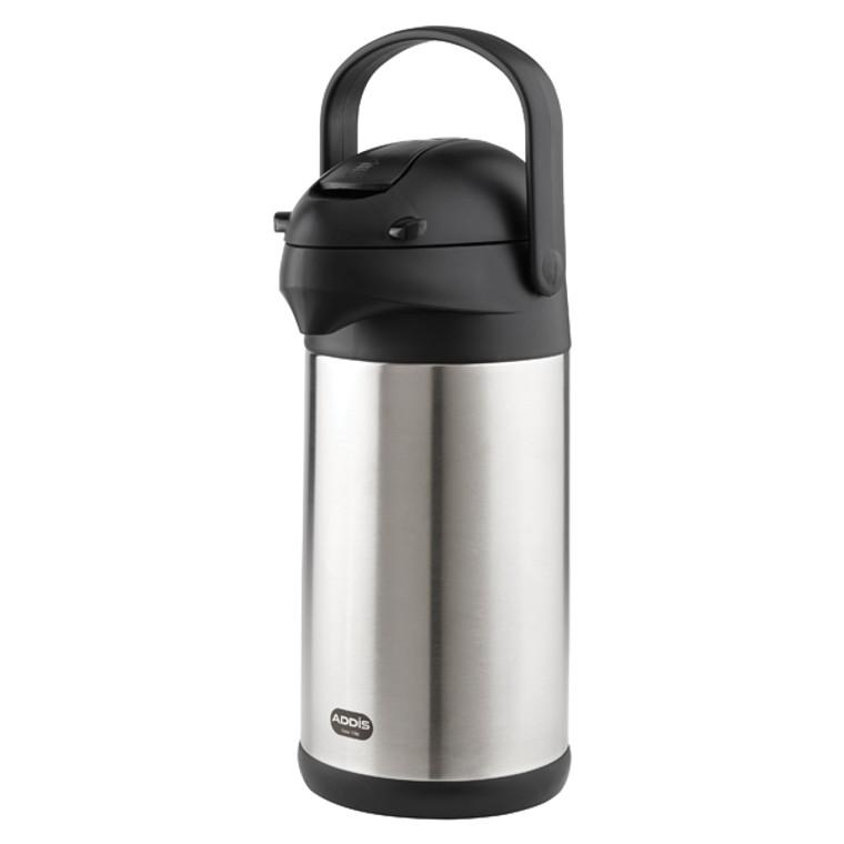 AG06509 Addis Chrome President Pump Pot Vacuum Jug 3 Litre 517465