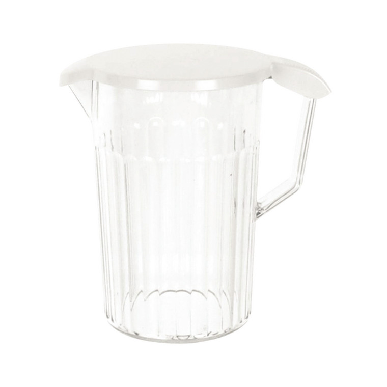UP20931 Clear Polycarbonate 1 4 Litre Jug With Lid Completely dishwasher safe PC64CW