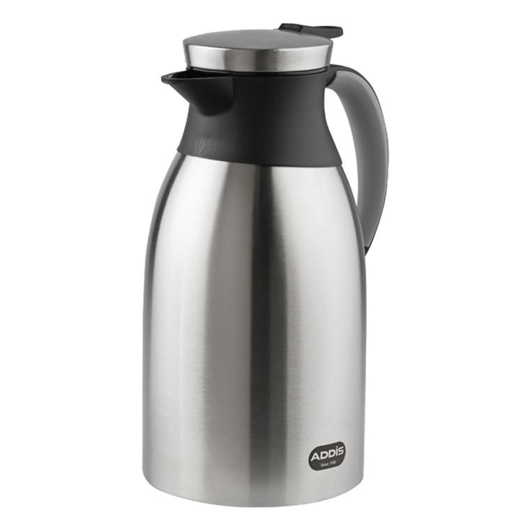 AG13818 Addis Diplomat Vacuum Jug 2 Litre Stainless Steel Black 629181600