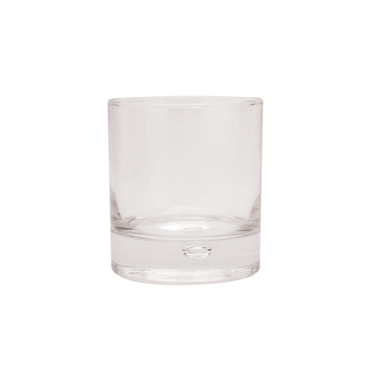 CG00210 Clear Squat Tumbler Drinking Glass 33cl Pack 6 301022