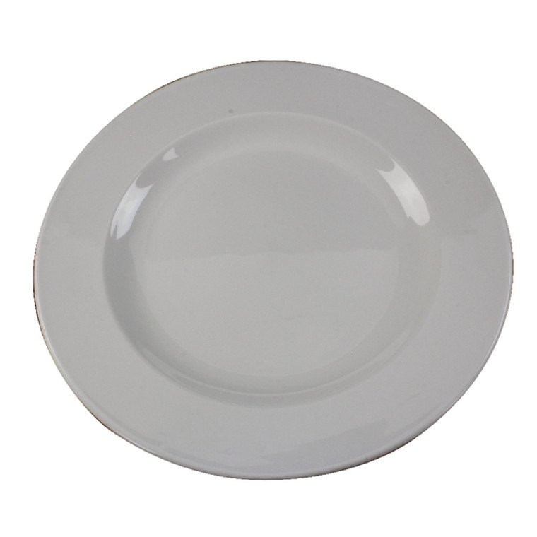 CPD30094 White 250mm Porcelain Plate Pack 6