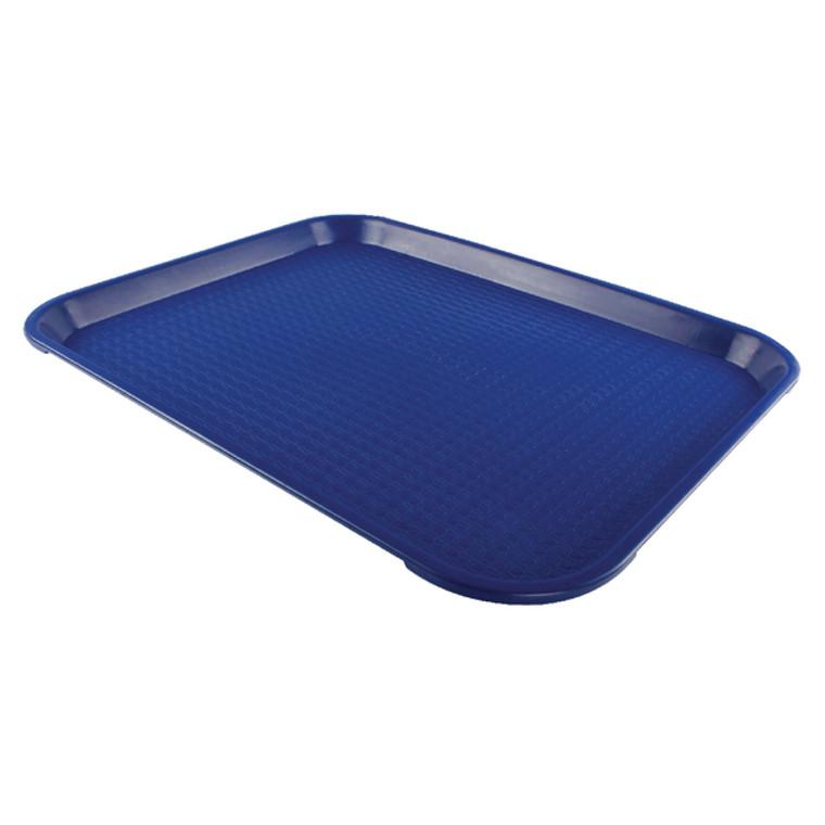 CG15080 Tea Tray Plain Blue 445x330mm KAF15080