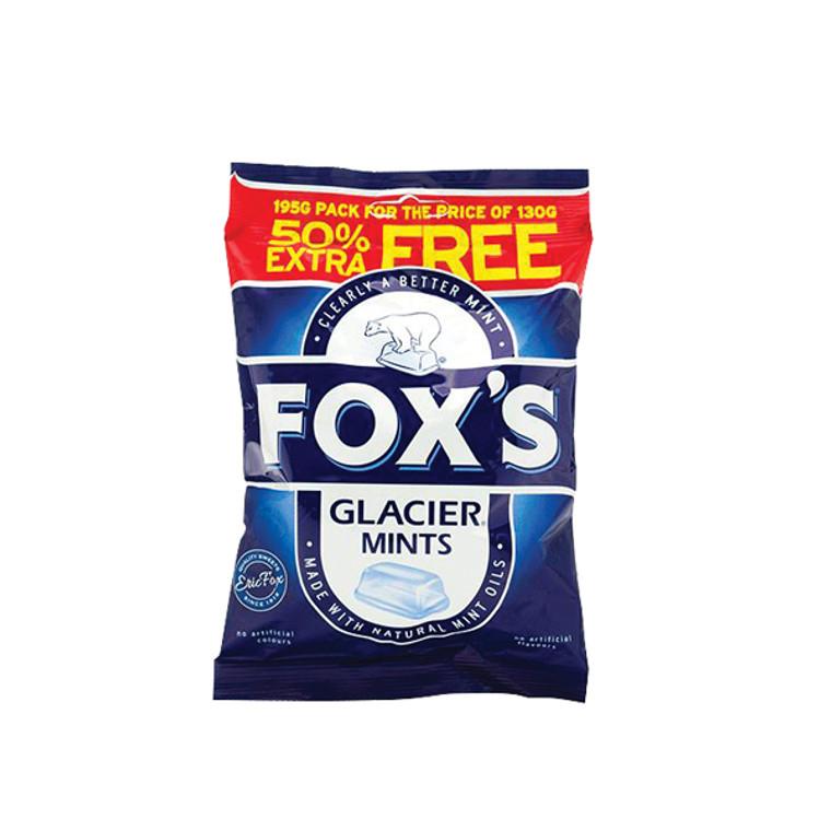 BZ92054 Foxs Glacier Mints 195g No artifical colours or flavours 0401004