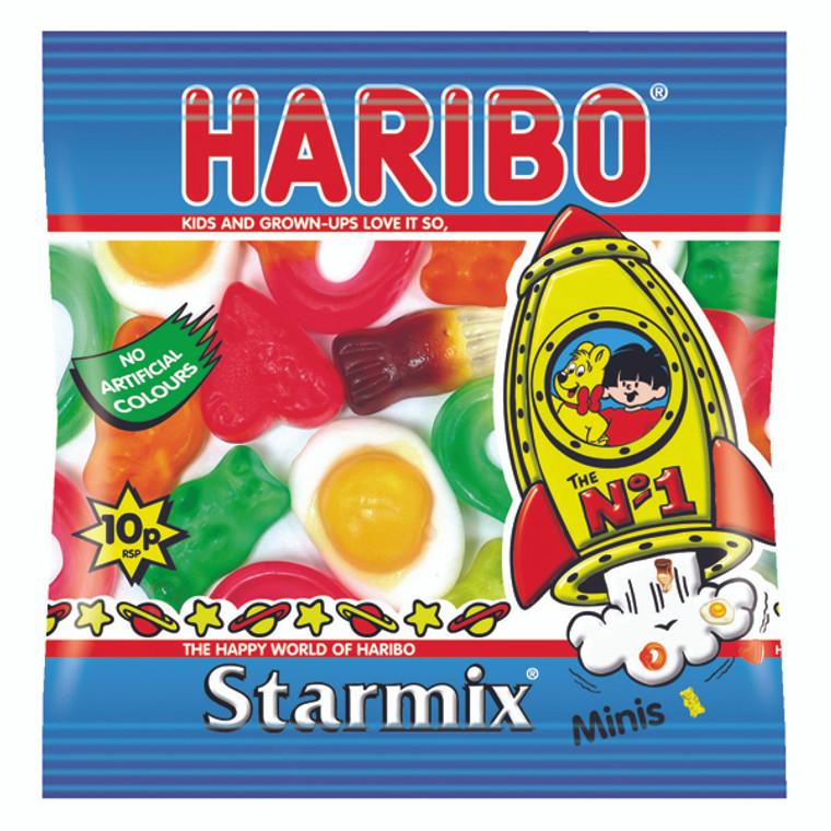 HB90924 Haribo Starmix Small Bag Pack 100 72443