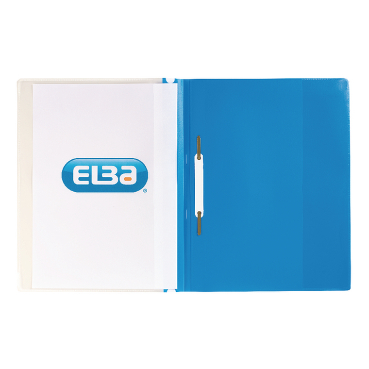 DB257906 Elba Pocket Report File A4 Blue Pack 25 400055037