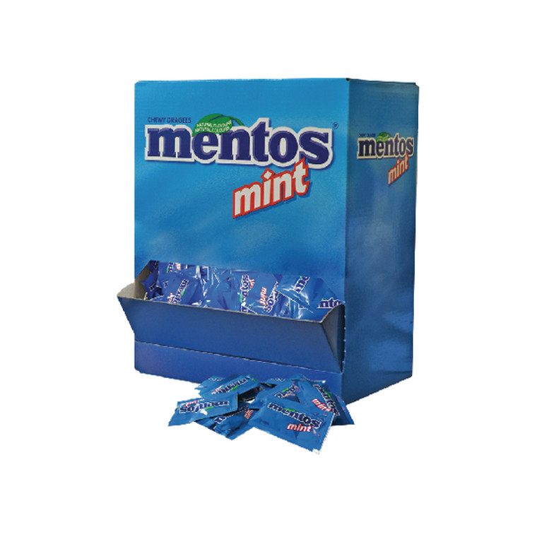 BZ28393 Mentos Individually Wrapped Mints Pack 700 A03664