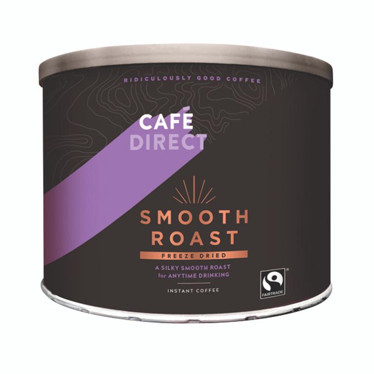 GAL00909 Cafedirect Smooth Roast Freeze Dried Coffee Tin 500g TWI4101