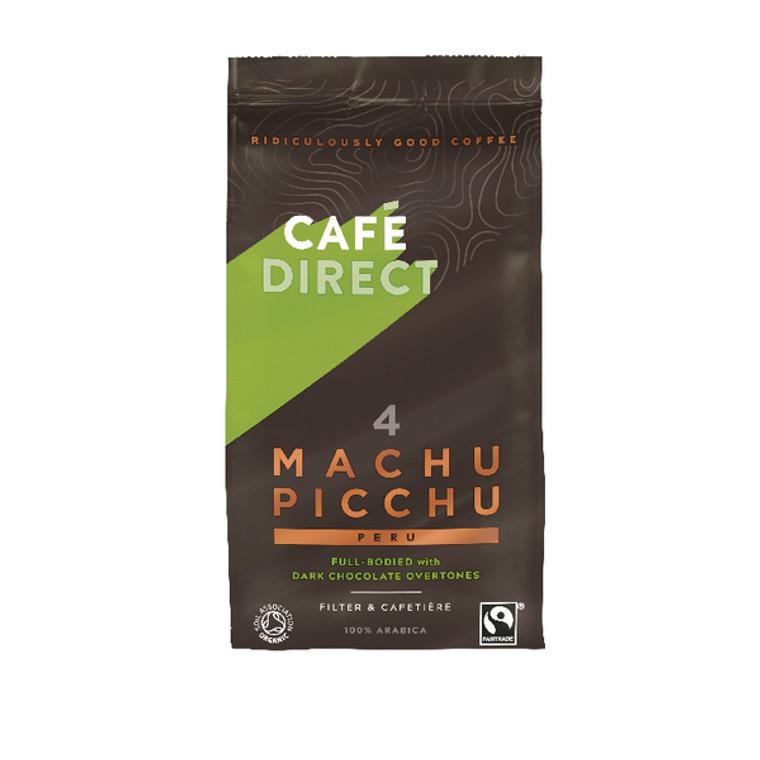 GAL00944 Cafedirect Organic Ground Machu Picchu Coffee 227g TWI12026