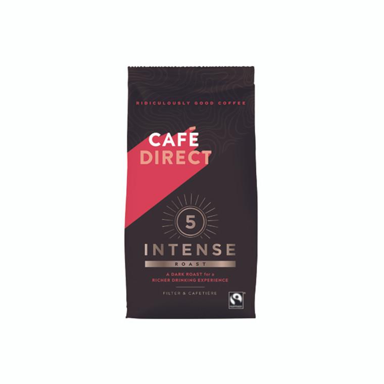 GAL00903 Cafedirect Intense Roast Ground Coffee 227g FCR0003