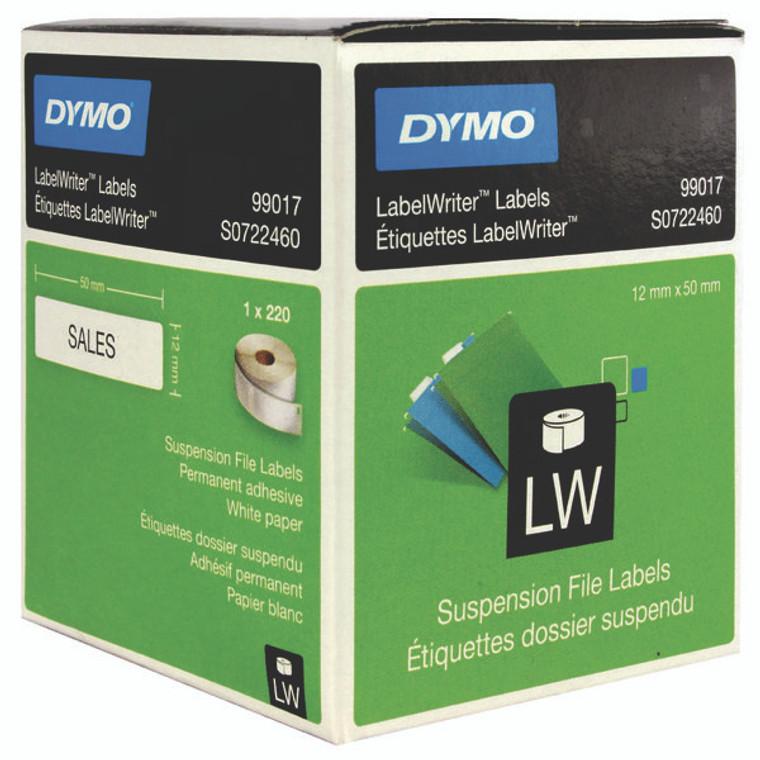 ES99017 Dymo 99017 LabelWriter Suspension File Labels 50mm x 12mm S0722460