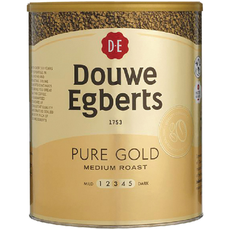BZ24980 Douwe Egberts Pure Gold Continental Instant Coffee 750g 257750