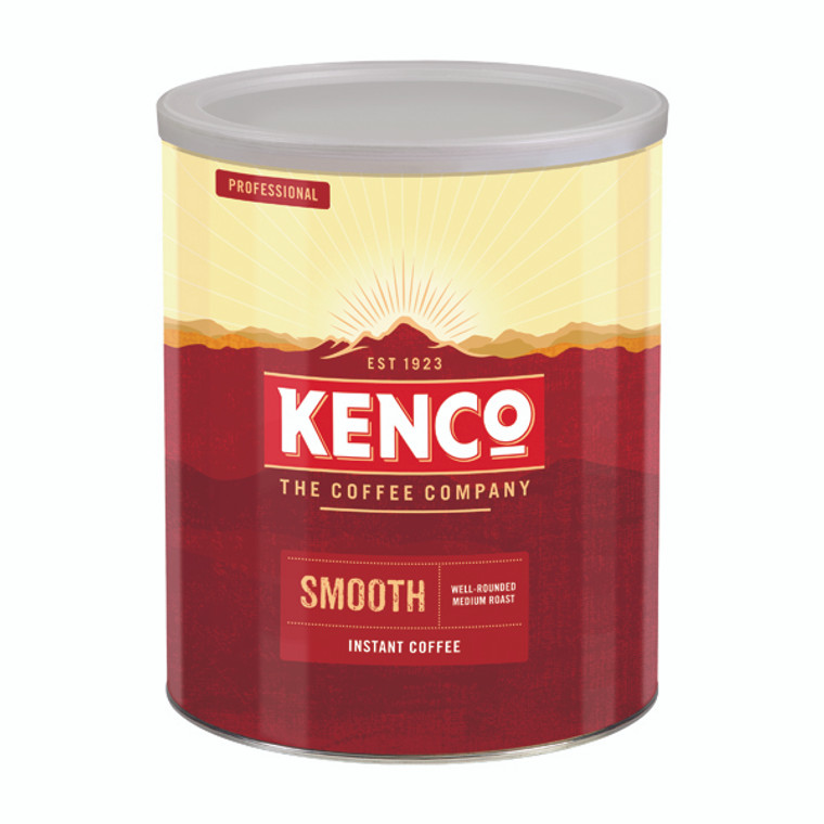 KS16230 Kenco Really Smooth Freeze Dried Instant Coffee 750g 61677