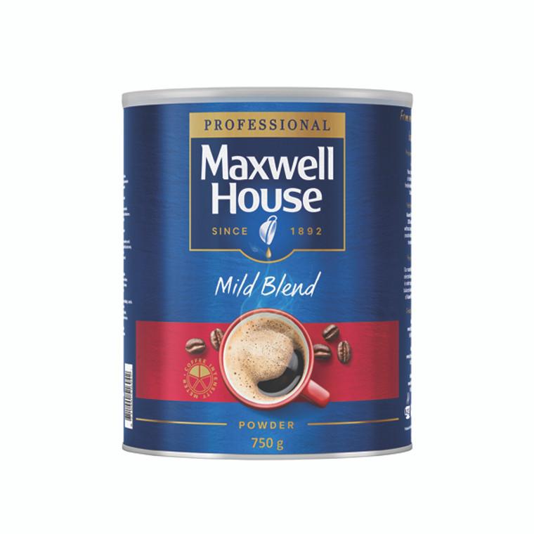 KS79319 Maxwell House Coffee Powder 750g Tin 64997