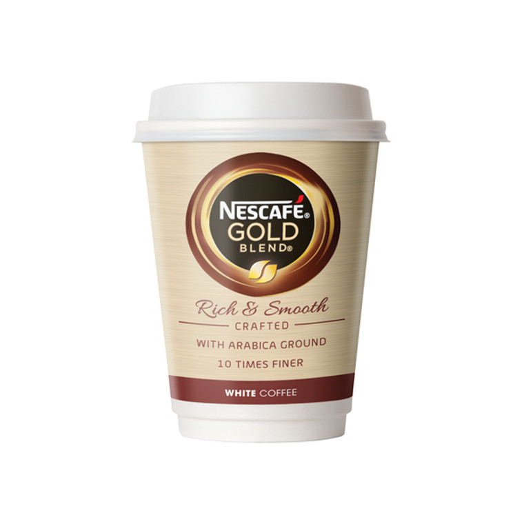 NL52547 Nescafe Go Gold Blend White Coffee Pack 8 12368081