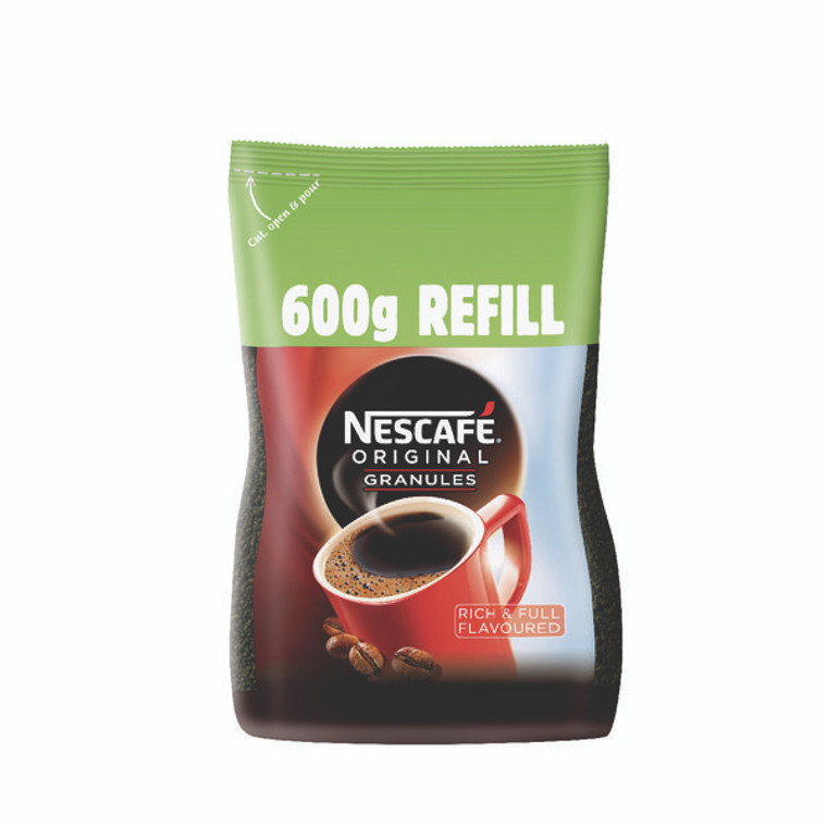 NL36812 Nescafe Instant Coffee 600g Refill 12315643