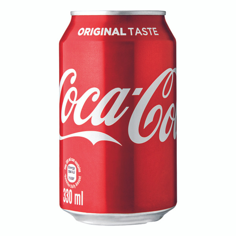 AU00099 Coca-Cola Soft Drink 330ml Can Pack 24 402002