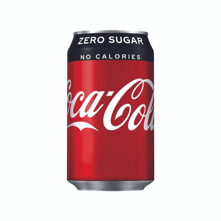 BZ17566 Coke Zero Soft Drink 330ml Can Gluten dairy nut free Pack 24 402003