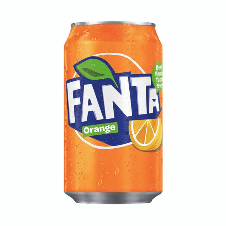 BZ18041 Fanta Orange Soft Drink 330ml Can Pack 24 402006 A00769