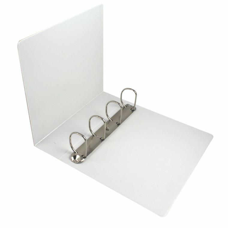 ES600555 Esselte 60mm 4 D-Ring Presentation Binder A4 White 49706