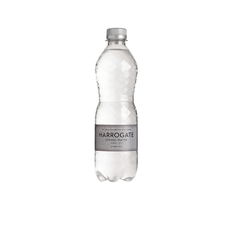HSW35109 Harrogate Sparkling Spring Water 500ml Plastic Bottle Pack 24 G750121S