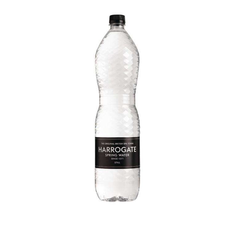 HSW35117 Harrogate Still Spring Water 1 5L Plastic Bottle P150121S Pack 12 P150121S
