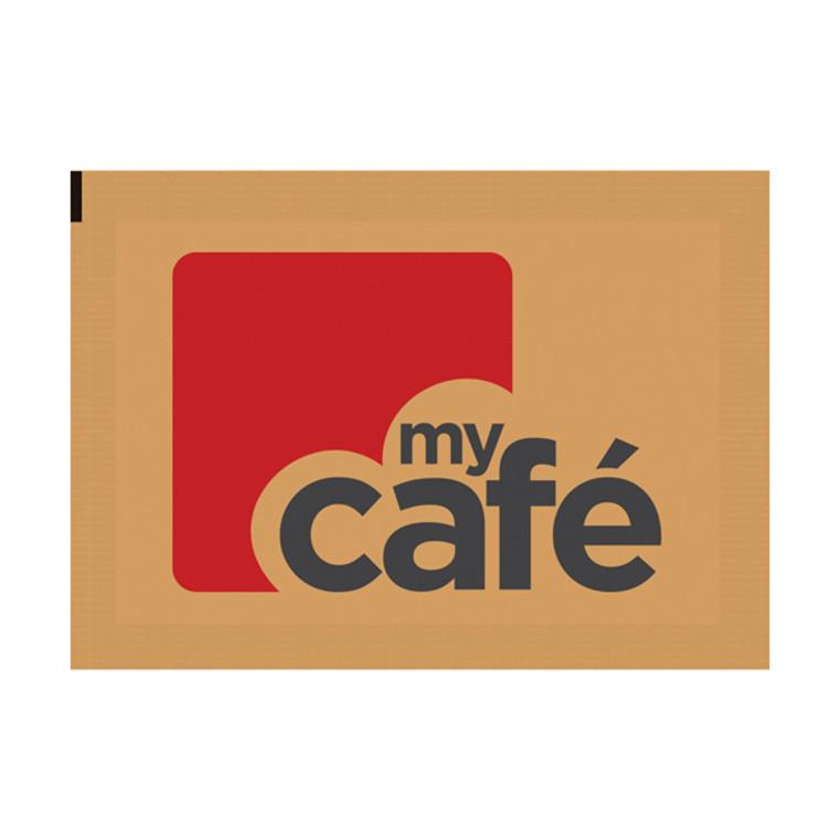 AU00378 MyCafe Brown Sugar Sachets Perfect both tea coffee Pack 1000 A00890
