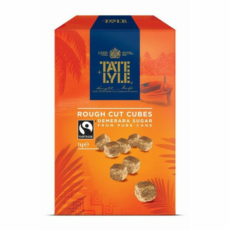 SNG33737 Tate Lyle Demerara Rough Cut Sugar Cubes 1kg 21J1003