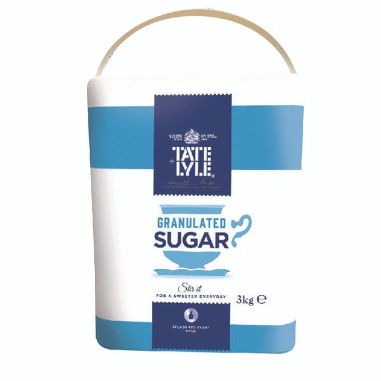 SNG92779 Tate Lyle Granulated Sugar 3kg TS165