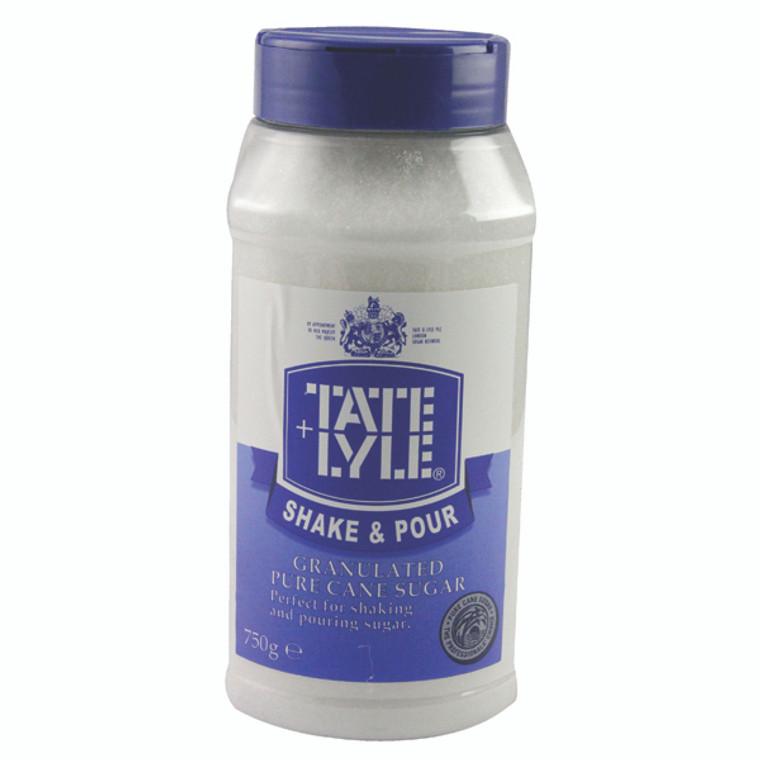 AU10415 Tate Lyle White Shake Pour Sugar Dispenser 750g A03907