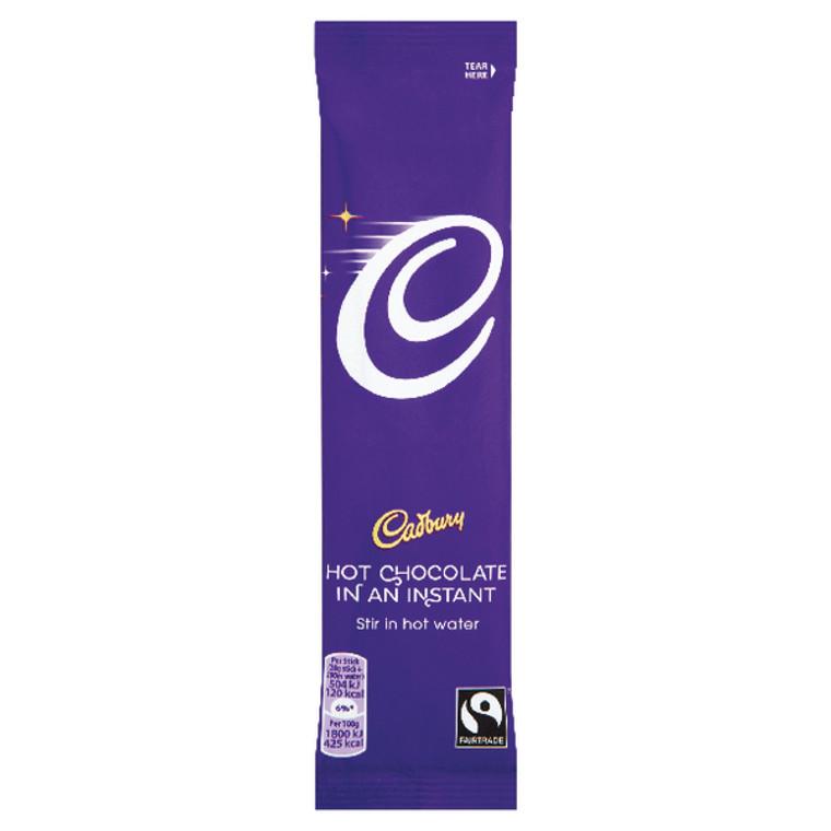 KS04386 Cadbury Instant Hot Chocolate Sachets 28g Pack 50 915654