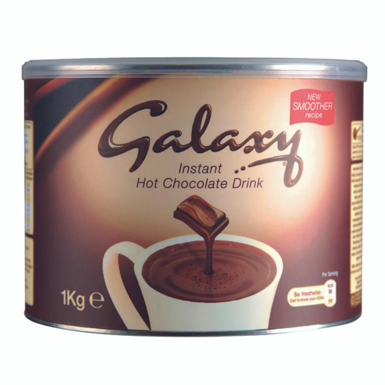 BZ10551 Galaxy Instant Hot Chocolate Tin 1kg A01950