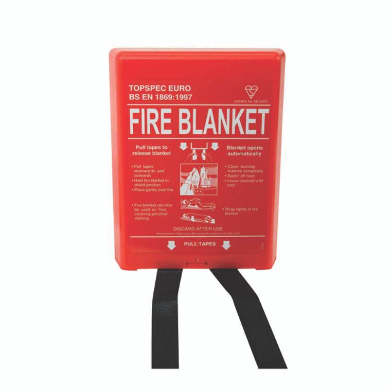 FM67060 Fire Blanket Fibreglass 1000x1000mm FB110