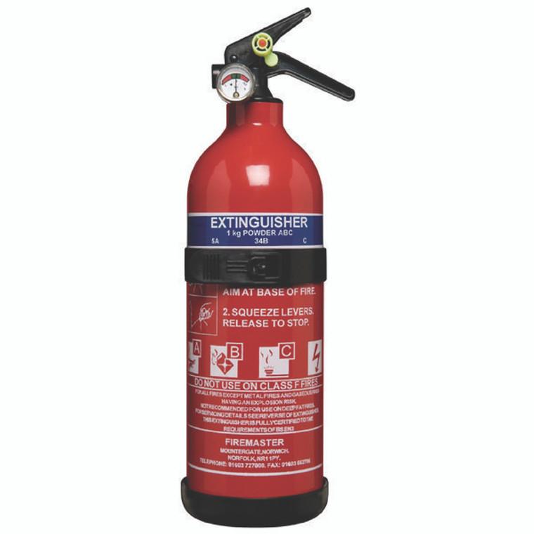 FM01010 Fire Extinguisher 1 kg ABC Powder ABC1000