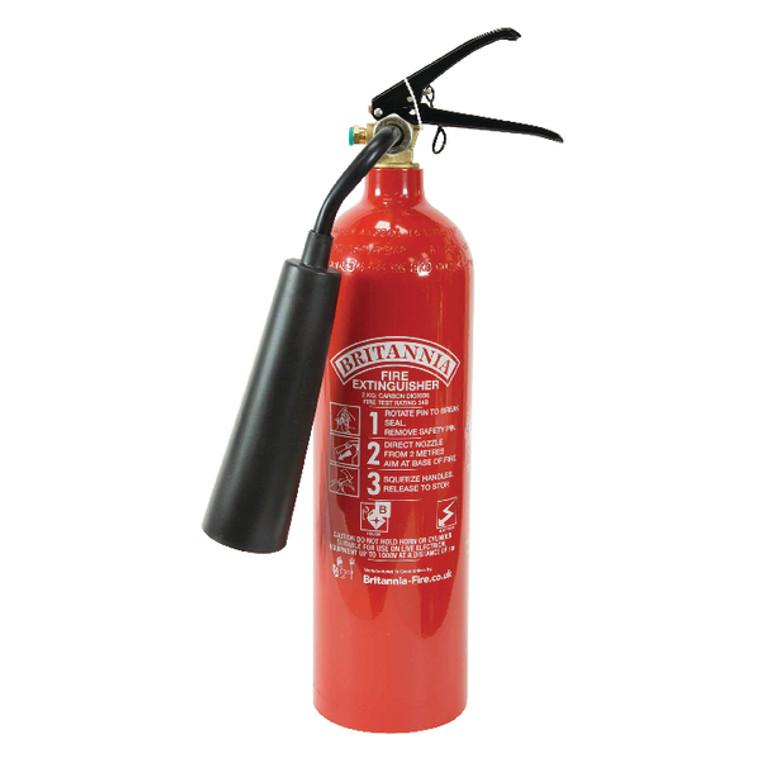 FM29264 Fire Extinguisher Carbon Dioxide 2 kg XC2A