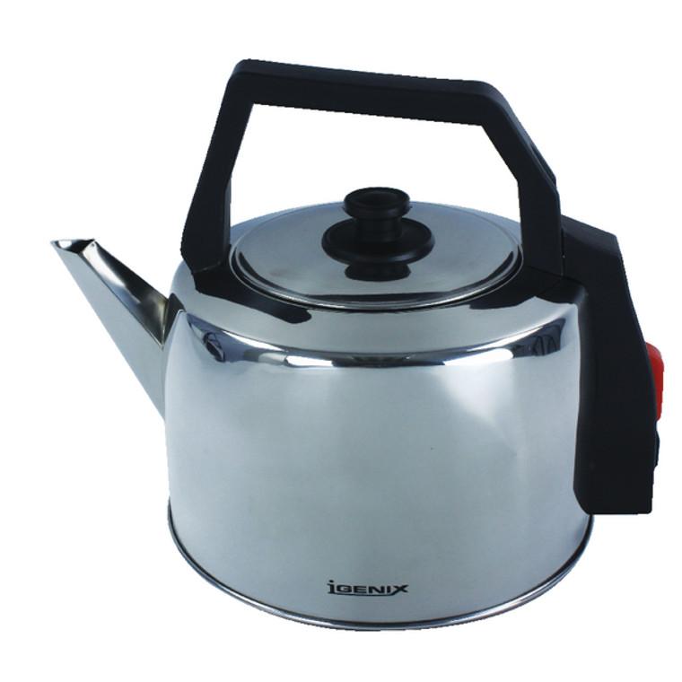 HID52924 Igenix Steel Corded Catering Kettle 3 5 Litre IG4350