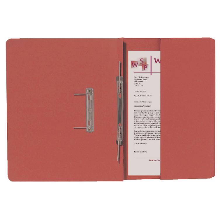 GH25487 Exacompta Guildhall Right Hand Transfer Spiral Pocket File 315gsm FC Orange Pack 25 211 9063Z