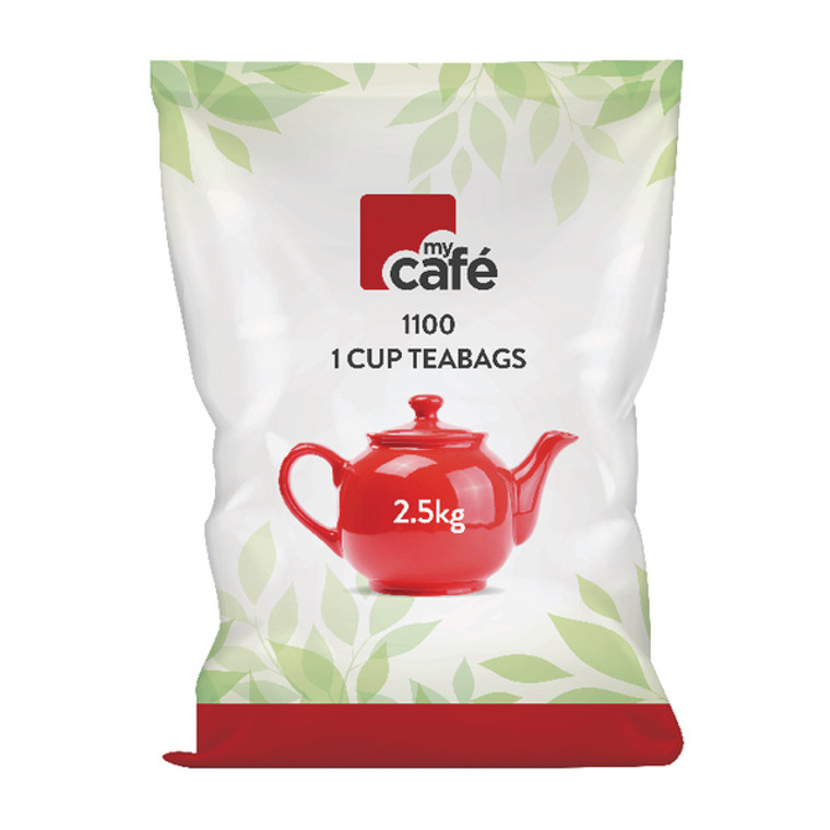 AU65698 MyCafeOne Cup English Breakfast Tea Bags Pack 1100 T0260