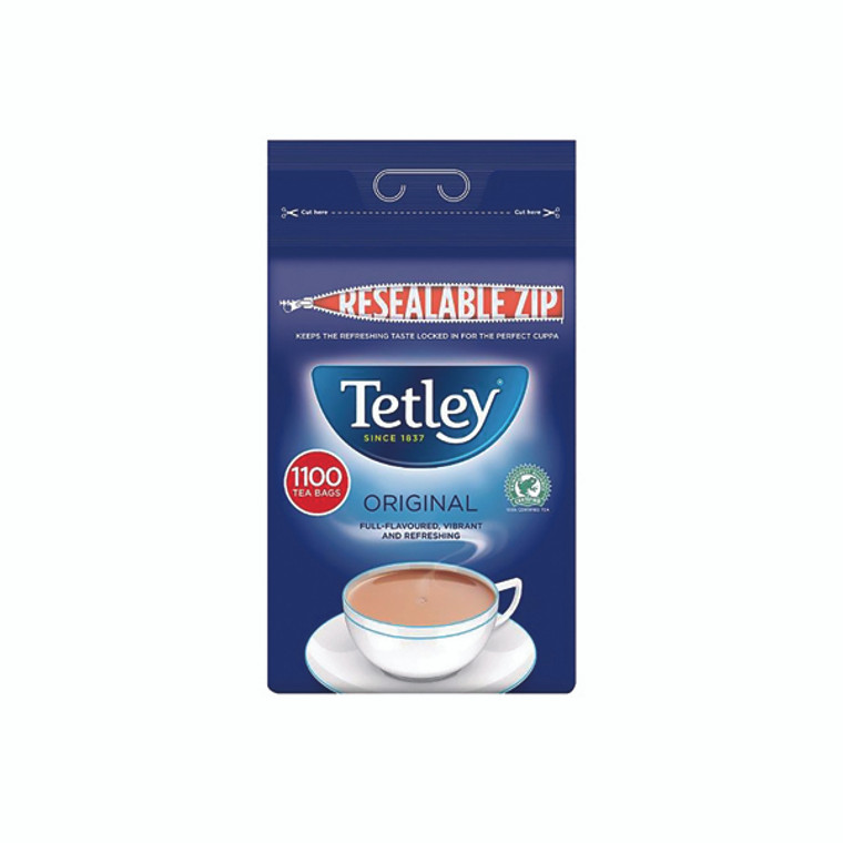 AU03901 Tetley One Cup Tea Bags Catering Pack 1100 A01161